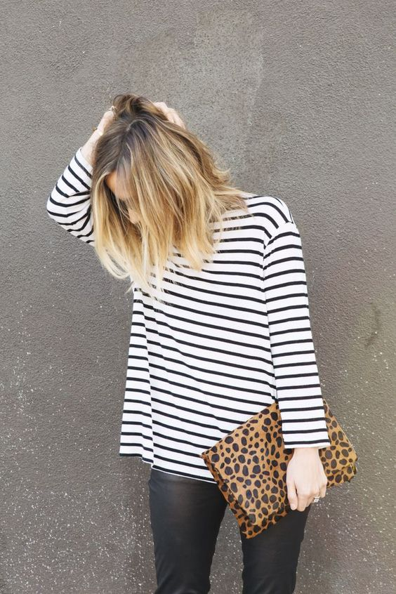leopard clutch pinterest